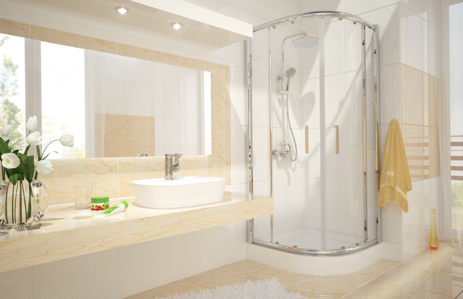 Kabina Kordoba ze szkłem typu clear to połączenie klasyki z nowoczesnością!